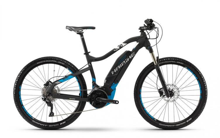 """Электровелосипед Haibike SDURO HardSeven 5.0 500Wh 27,5"""", рама L, черно-сине-белый, 2018, фото 2"""