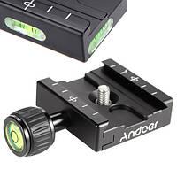 Основание быстрозажимное Andoer QR-50 Arca Swiss для штативной головки