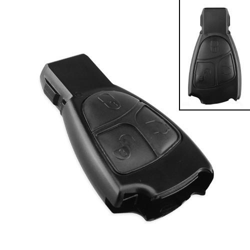Ключ зажигания, заготовка корпус под чип, 3 кнопки для Mercedes