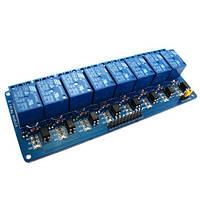 8-канальний модуль реле 5В для Arduino PIC ARM AVR, фото 1
