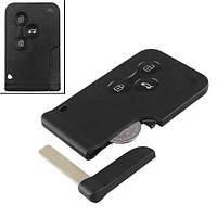 Ключ зажигания, чип ID46 PCF7947, 3 кнопки, для Renault Megane, Scenic