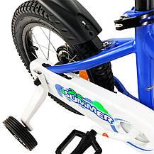 """Велосипед детский RoyalBaby Chipmunk MK 12"""", OFFICIAL UA, голубой, фото 3"""