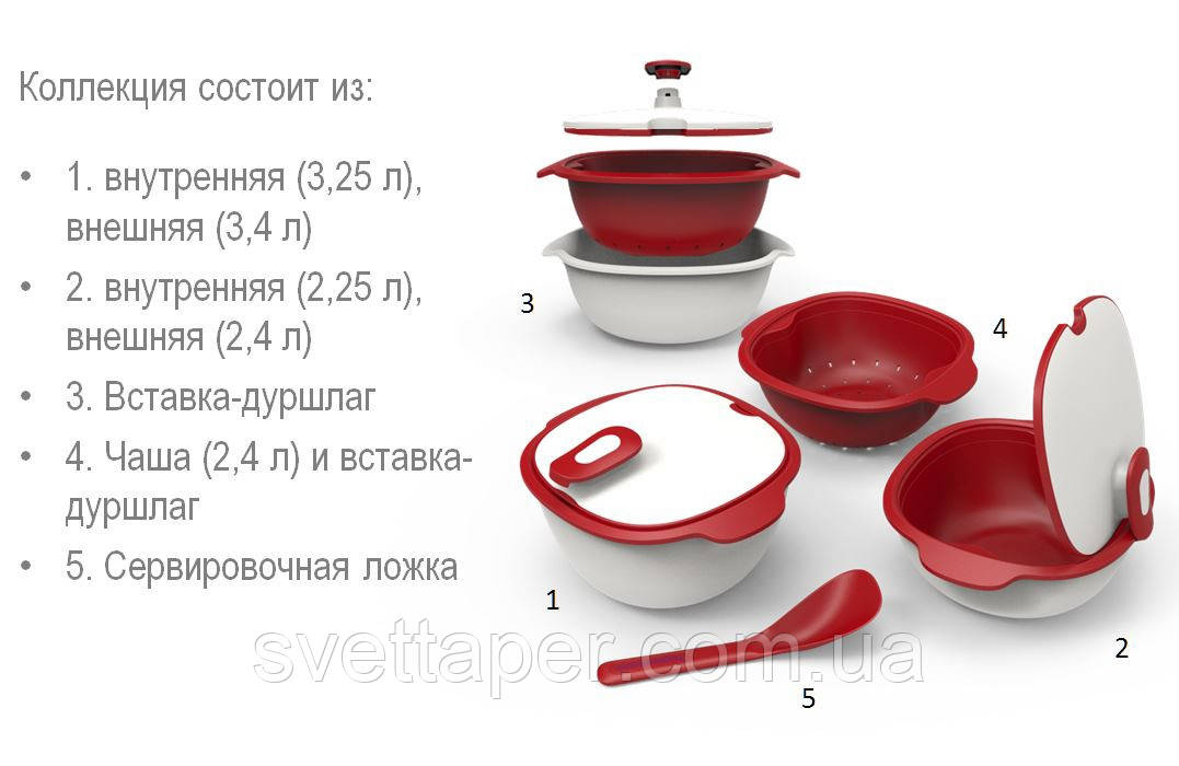новогодняя коллекция таппервер посуда