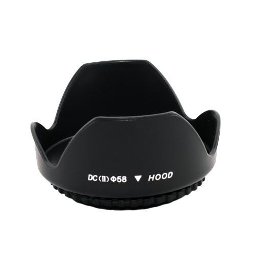 Бленда пелюсткова 58мм універсальна Canon Nikon