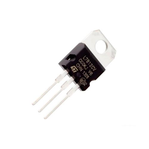 Чіп L7812CV L7812 TO220, Стабілізатор напруги лінійний +12В 1.5А