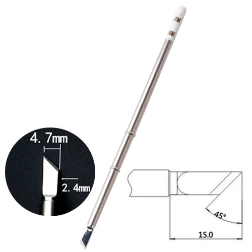 Жало наконечник T12-K Нож для паяльника паяльной станции Hakko T12
