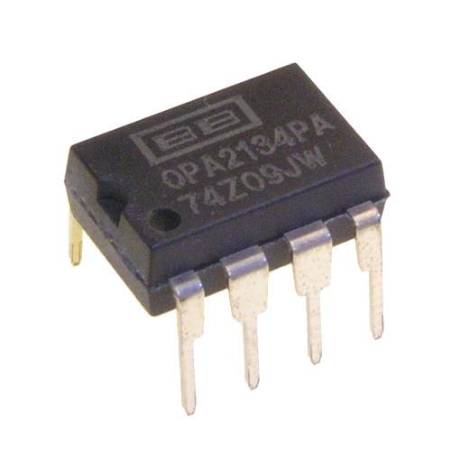 Чип OPA2134PA OPA2134 DIP8, Операционный усилитель 2-канальный
