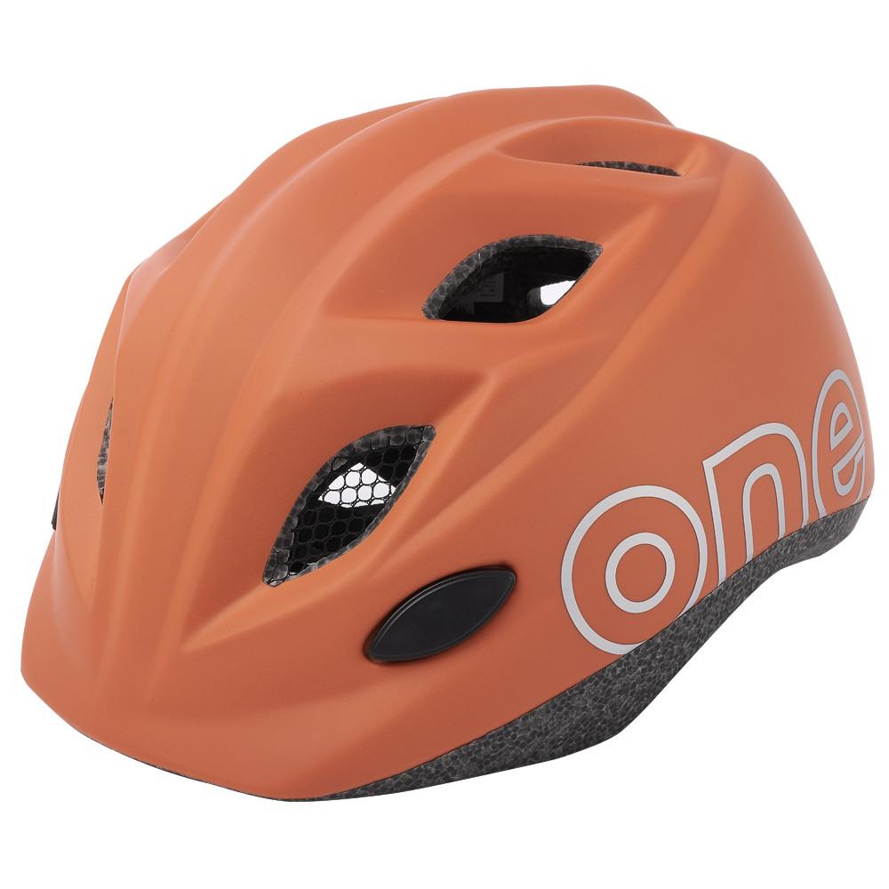 Шлем велосипедный детский Bobike One Plus / Chocolate Brown / XS (46/53)