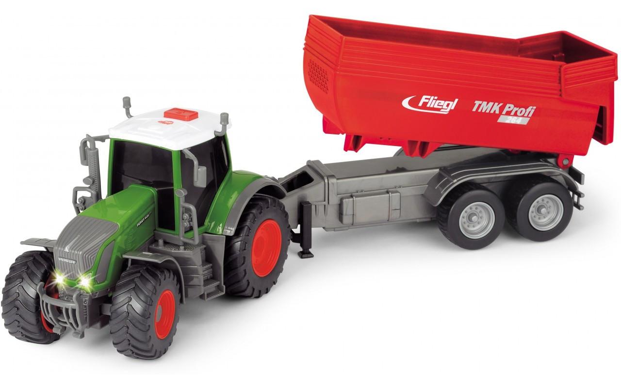 Трактор Фендт 939 Варіо з причепом, 41 см (звук, світло) Dickie Toys 1+ (3737002)