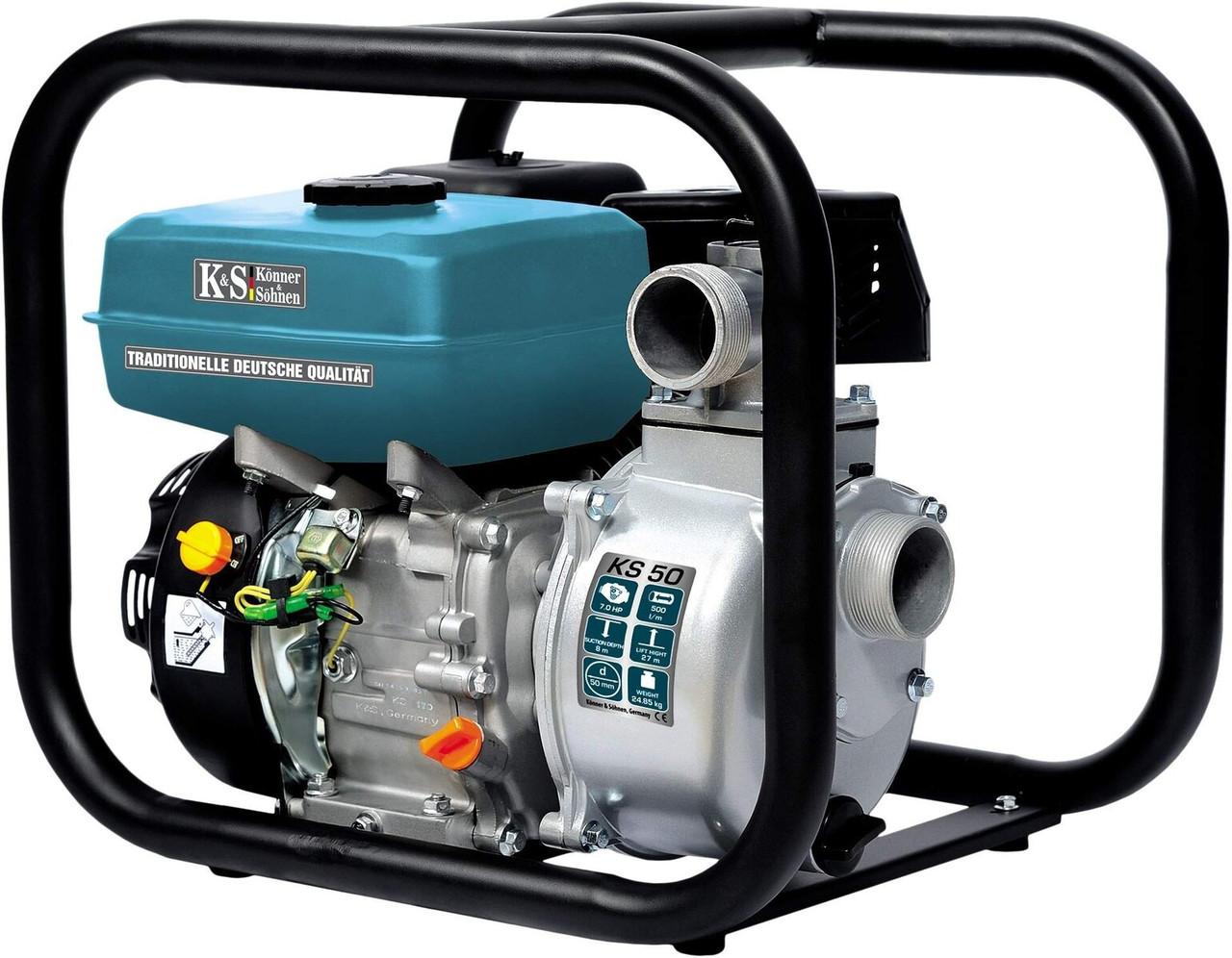 Мотопомпа для чистої води Konner & Sohnen KS 50
