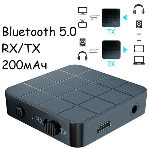 Bluetooth 5.0 міні аудіо приймач передавач звуку 200мАг VIKEFON KN321