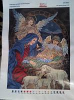 """Схема для вышивки бисером """"Народження Ісуса"""""""