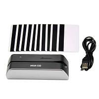 Энкодер пластиковых магнитных карт MSRX6, портативный аналог MSR206 MSR606
