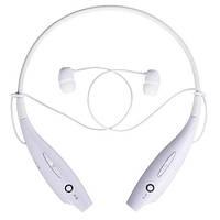 Навушники бездротові Bluetooth гарнітура HBS-730 з шийним обідком, білі