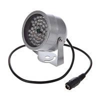 Прожектор инфракрасный ИК для камер 48LED 30м уличный