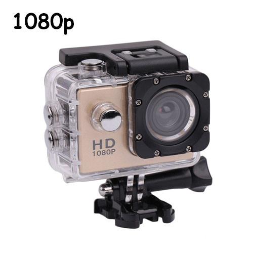 Видеокамера, экшн-камера водонепроницаемая 1080p, A7, комплект креплений