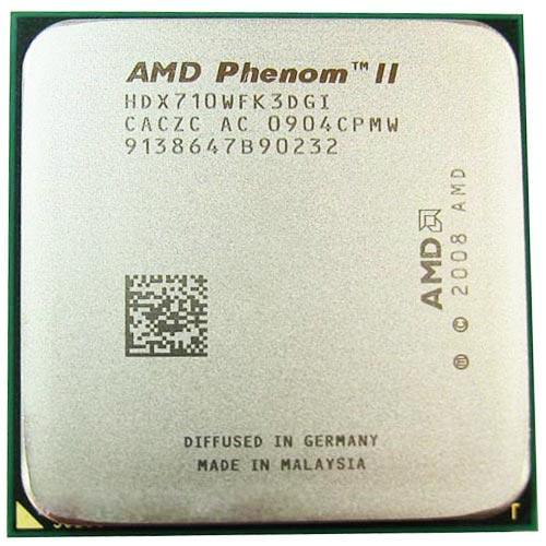 Процессор AMD Phenom II X3 710, 3 ядра, 2.6ГГц, AM2+, AM3