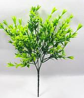 """Зеленая """"аквилегия новая""""30см куст искусственной зелени для декорирования, фото 1"""