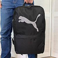 Мужской портфель Puma Пума из ткани Оксфорд Качественный удобный классический городской рюкзак Черный