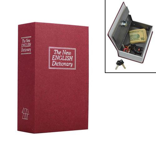Книга, книжка сейф на ключі, метал, англійський словник S 180х115х55мм