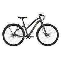 """Велосипед Ghost Square Urban 3.8 28"""" , рама S, сіро-коричнево-чорний, 2019"""