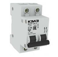 Автоматический выключатель (Автомат) ВА 47 29 2р 25А (4,5кА), КЭАЗ