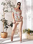 Костюм женский летний красивый большого размера, фото 3
