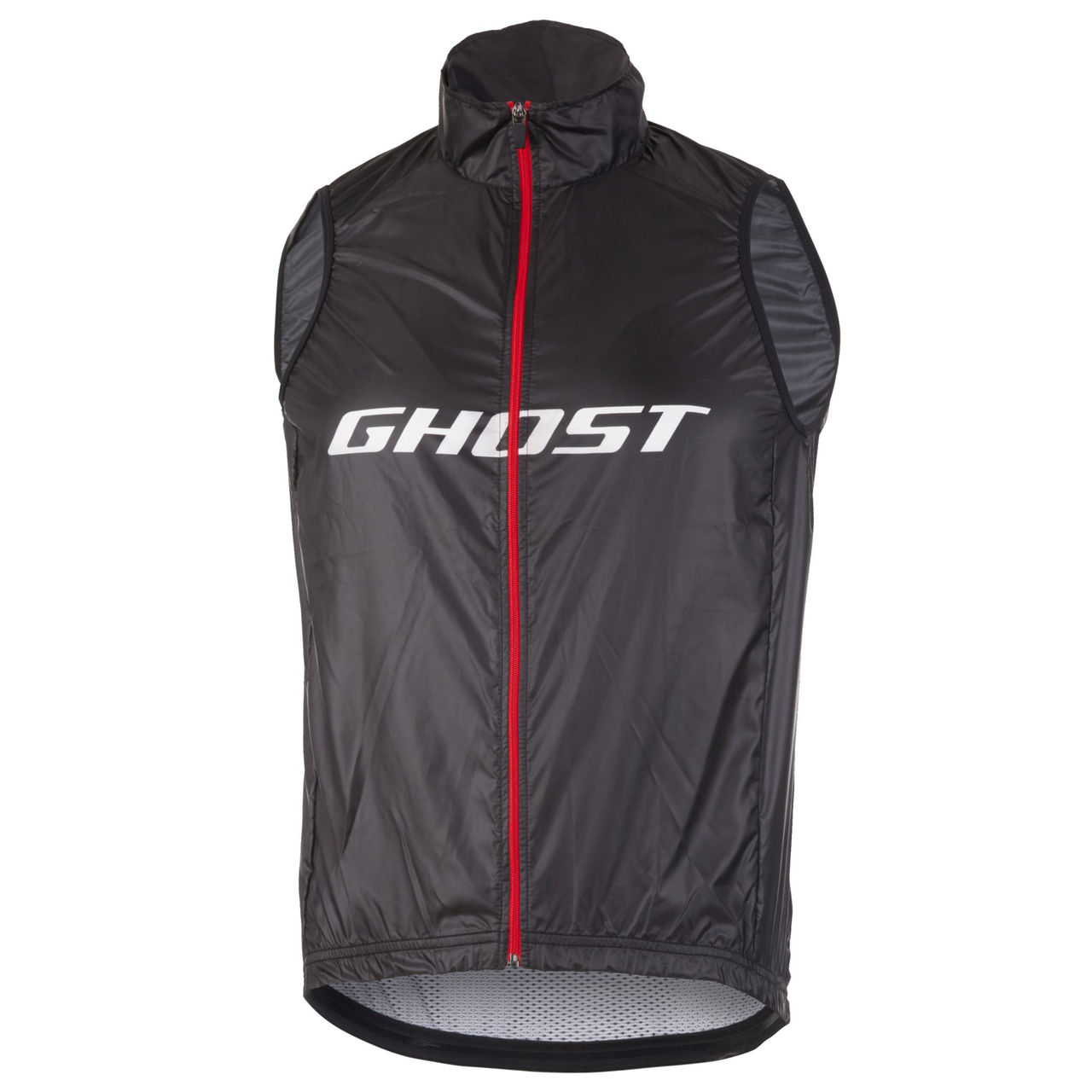 Жилет Ghost Factory Racing, XXL, черно-красно-белый