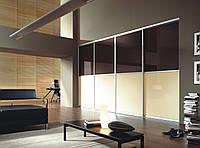Раздвижные двери глянцевое стекло