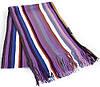 Мужской шерстяной шарф в стиле PAUL SMITH 172 на 26 см BAOSIDI (БАОСИДИ) DC183-008 фиолетовый