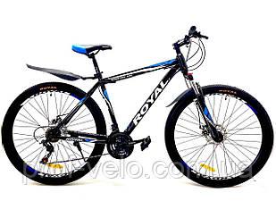 Велосипед Royal 29 DRIVE чорно-синій