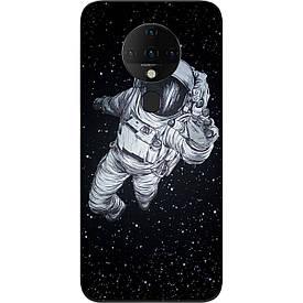 Чехол силиконовый для Tecno Spark 6 с картинкой Космонавт