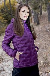 Куртка женская зимняя фиолетовая Alpine Crown WOMEN'S JACKET HELGA