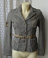 Пиджак женский жакет куртка хлопок бренд 10 Feet р.42-44 4617, фото 1