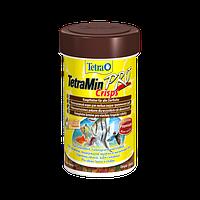Корм для аквариумных рыб Tetra MIN Crisps 100 мл чипсы основной корм для всех видов рыб