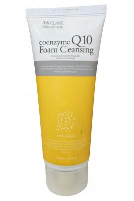 Очищающая пенка с коэнзимом 3W Clinic Coenzyme Q10 Foam Cleansing 100 мл