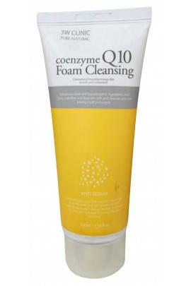 Очищающая пенка с коэнзимом 3W Clinic Coenzyme Q10 Foam Cleansing 100 мл, фото 2