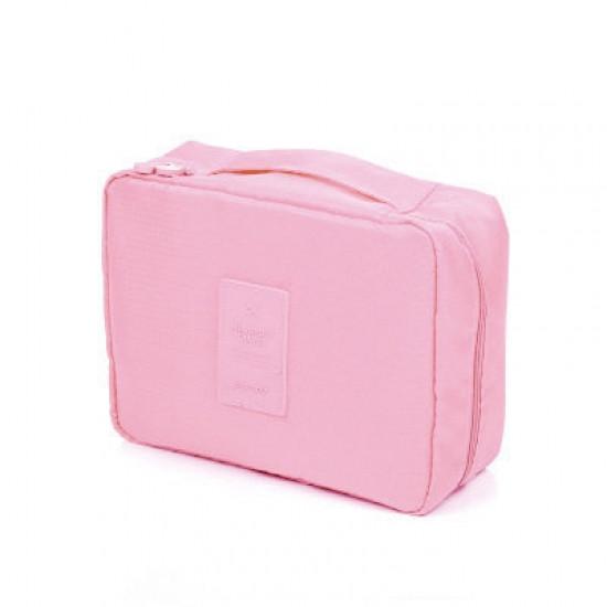 Органайзер для білизни і косметики Liguo travel pink
