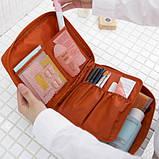 Органайзер для білизни і косметики Liguo travel pink, фото 3