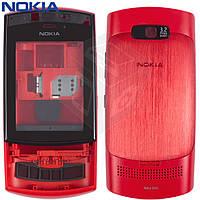 Корпус для Nokia Asha 303, красный, оригинал