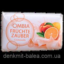 Мыло с ароматом персика и апельсина  Ombia Fruchte Zauber 150 гр