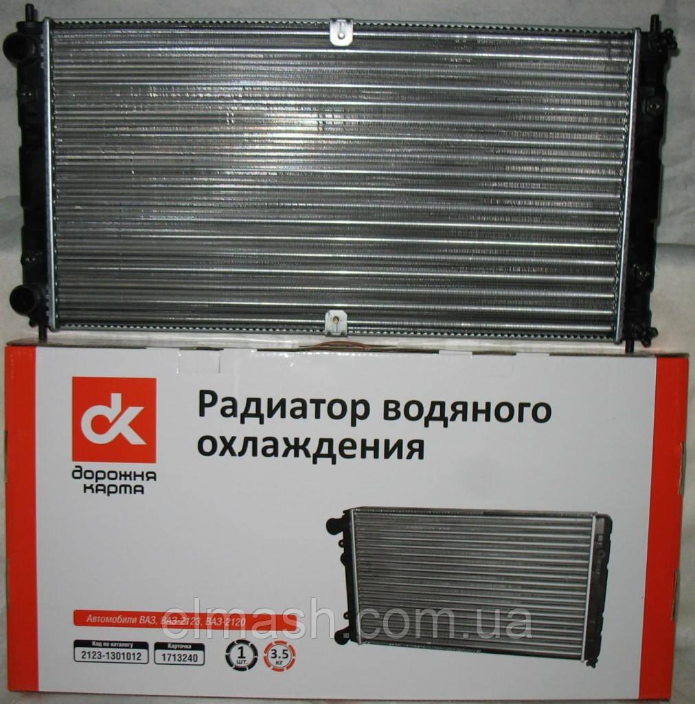 Радиатор водяного охлаждения ВАЗ 2123 <ШЕВРОЛЕ-НИВА> <ДК>