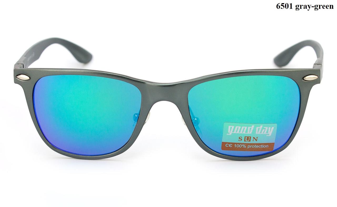 Алюмінієві жіночі окуляри з синіми лінзами Good Day