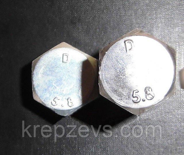 Болт шестигранный М22 класс прочности 5.8, ГОСТ 7798-70, ГОСТ 7805-70, DIN 931, DIN 933 | Фотографии принадлежат  предприятию ЗЕВС®