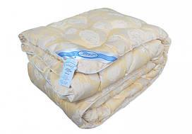 Одеяло Leleka-Textile Лебяжий пух Полуторный 140х205 см Желтая роза 1005575, КОД: 1685031