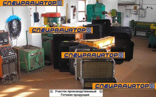 Ремонт радиаторов спецтехники