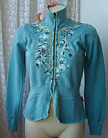 Кофта женская красивая с вышивкой и аппликацией бренд 10 Feet р.44-46 4598