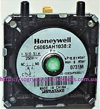 Пресостат Honeywell C6065FH, 0,68 мбар в зборі (ф.у, Італія) Baxi, Westen, арт. 628610, к. з. 0057/5