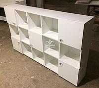 Навісний шафка з відкритими і закритими секціями Модель V111, фото 1