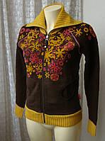 Кофта женская теплая нарядная хлопок начес шерсть бренд 10 Feet р.42-44 4621, фото 1